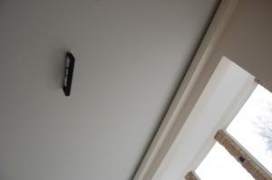 Clipso lubų paviršius lieka idealiai lygus