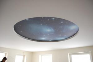 CLIPSO lubos žvaigždėtas dangus interjere