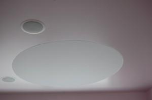 Nišoje sumontuoti šviesos diodai
